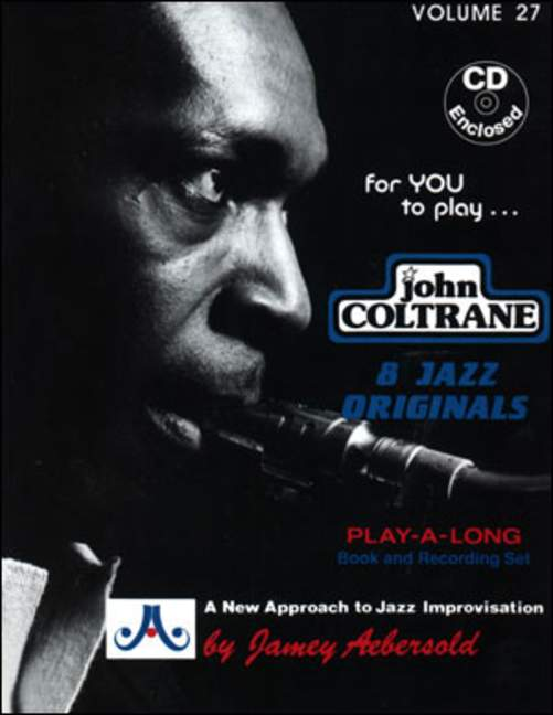 Aebersold 27 John Coltrane Book & CD All Instruments