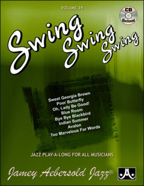 Aebersold 39 Swing, Swing, Swing Book & CD for All Instruments