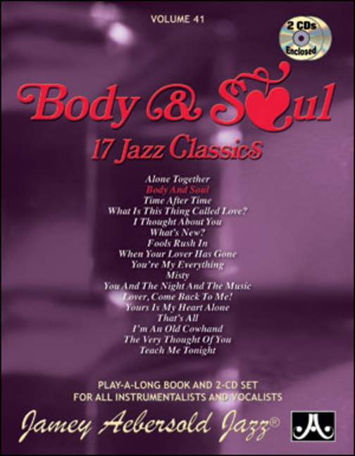 Aebersold 41 Body and Soul Book & CD for All Instruments
