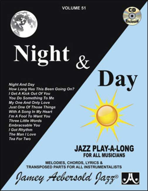 Aebersold 51 Night & Day Book & CD for All Instruments
