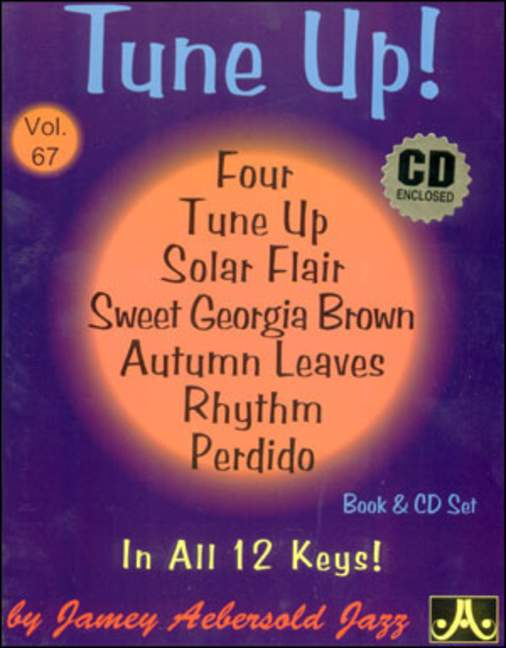 Aebersold 67 Tune Up Book & CD for All Instruments