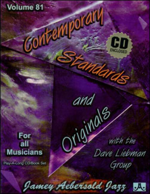 Aebersold 81 Contemporary Standards And Originals Book & CD for All Instruments