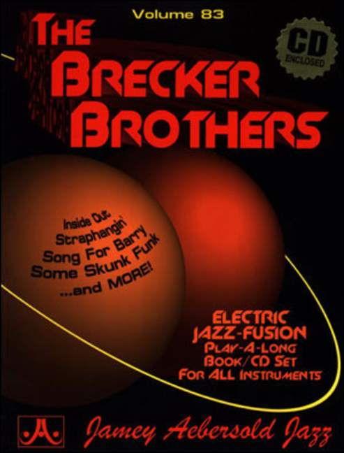 Aebersold 83 The Brecker Brothers Book & CD for All Instruments