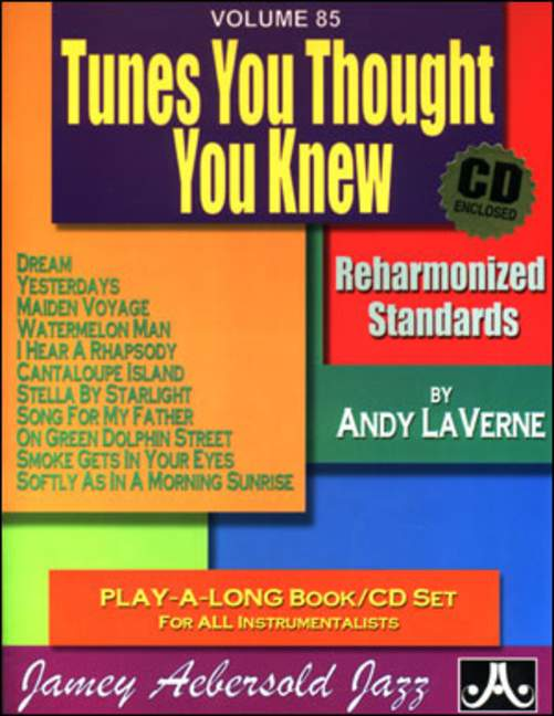 Aebersold 85 Tunes You Thought You Knew Book & CD for All Instruments