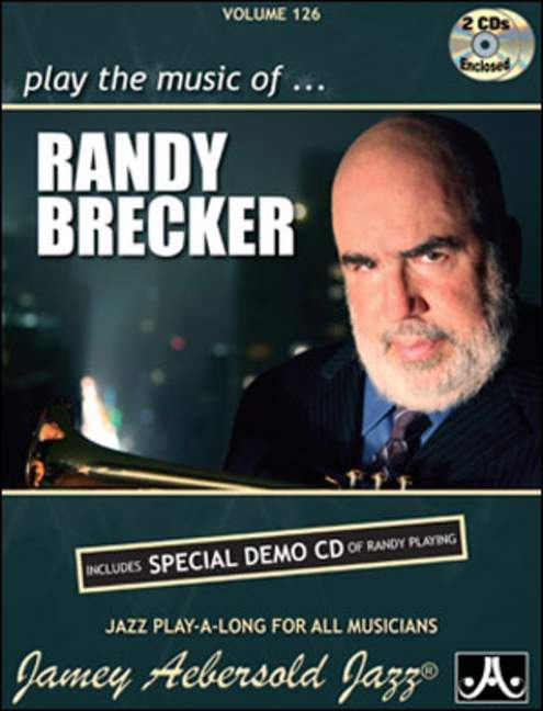 Aebersold 126 Randy Brecker Book & CD for All Instruments
