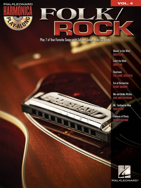 Harmonica Play-Along 4: Folk/Rock published by Hal Leonard