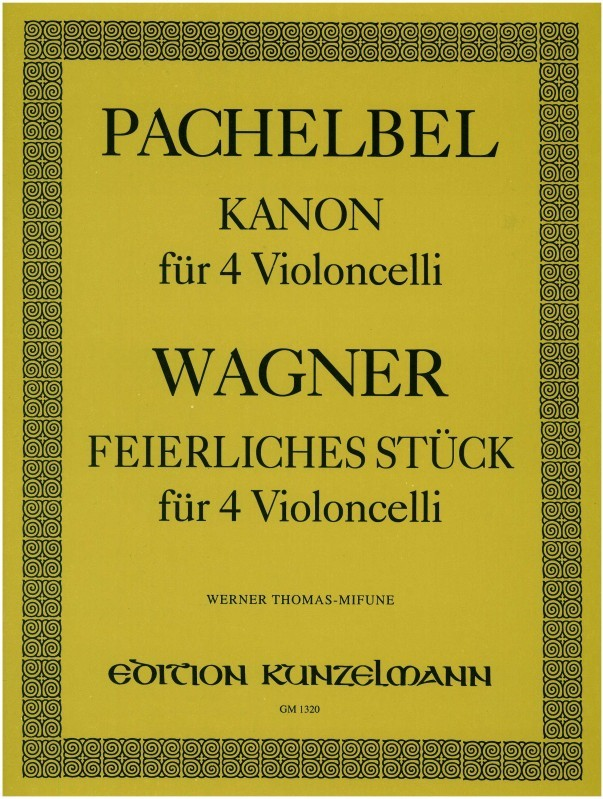 Music for 4 Cellos published by Kunzelmann