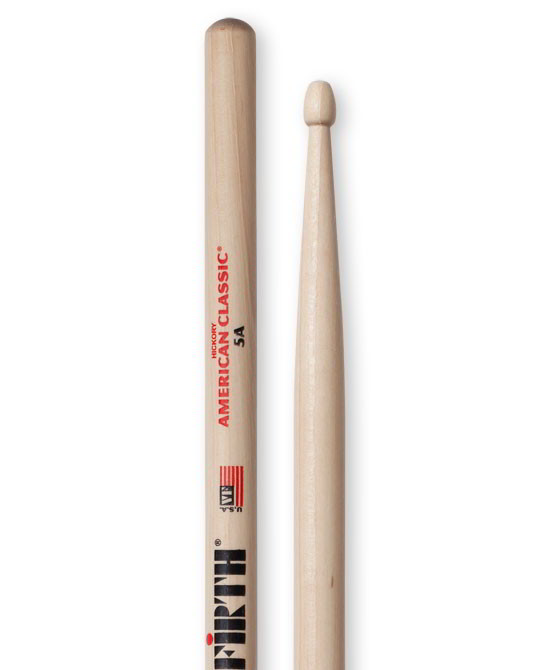 Vic Firth American Classic - Wood Tip Drumsticks - 5A