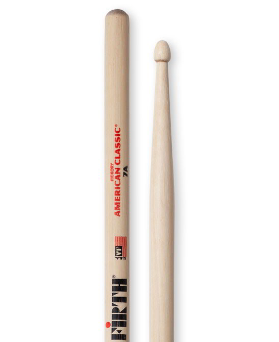 Vic Firth American Classic - Wood Tip Drumsticks - 7A