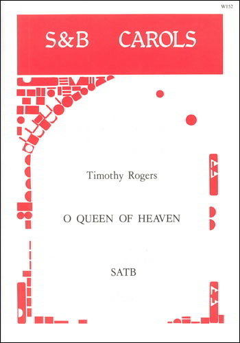 Rogers: O Queen of Heaven SATB published by Stainer and Bell