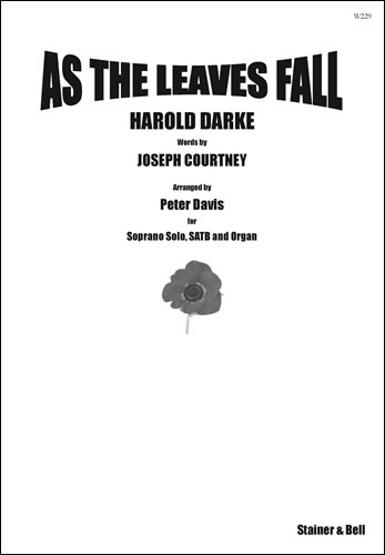 Darke: As the Leaves Fall published by Stainer & Bell