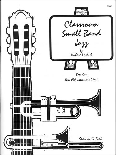 Michael: Classroom Small Band Jazz Book 1 published by Stainer & Bell - Additional Bass Clef Part
