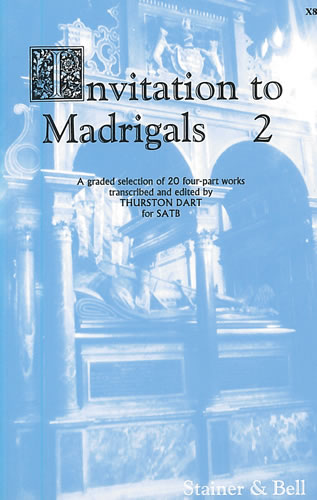 Invitation to Madrigals Book 2 (SATB) published by Stainer & Bell