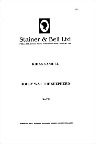 Samuel: Jolly Wat the Shepherd SATB published by Stainer and Bell