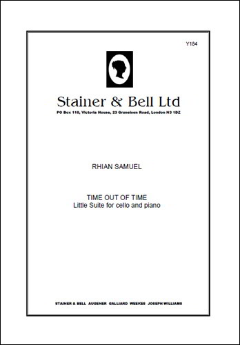 Samuel: Time Out of Time for Cello published by Stainer & Bell