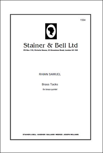 Samuel: Brass Tacks for Brass Quintet published by Stainer and Bell