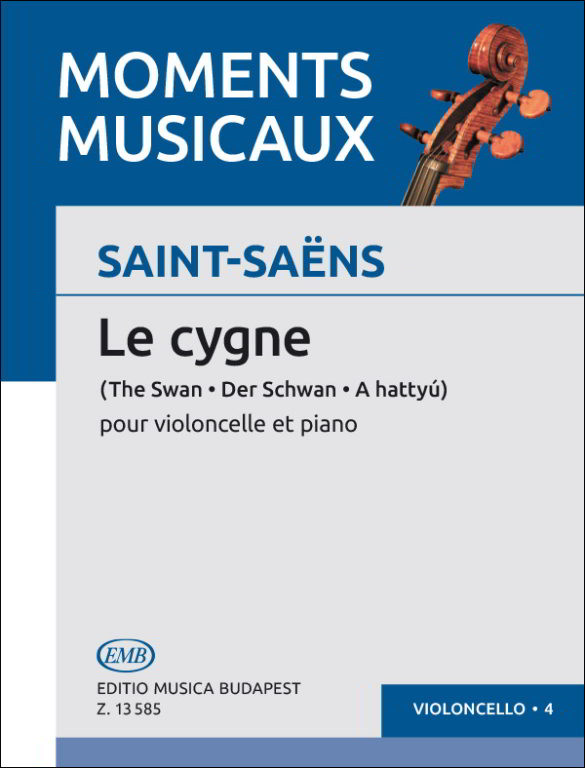 Saint-Saen: The Swan (Le Cygne) for Cello published by EMB