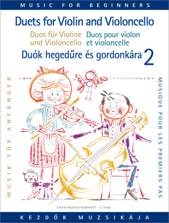 Music for Beginners - Duets for Violin and Cello 2 published by EMB