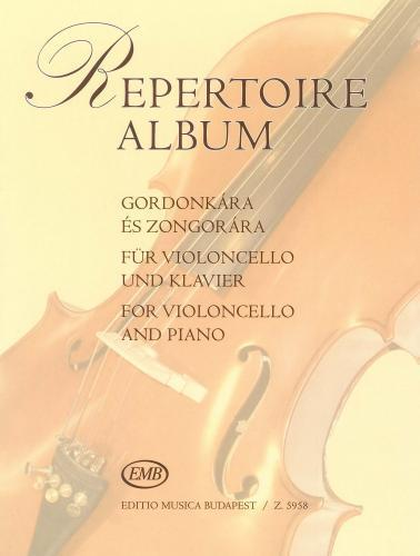 Repertoire Album for Cello published by EMB