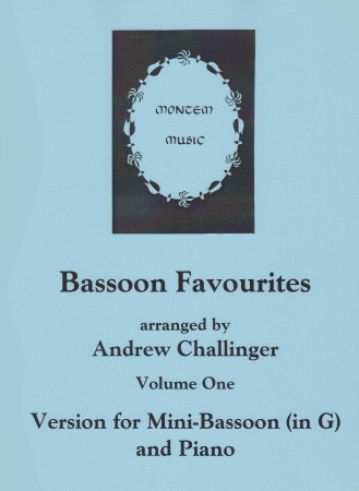 Bassoon Favourites Book 1 (for Mini-Bassoon in G) published by Montem Music