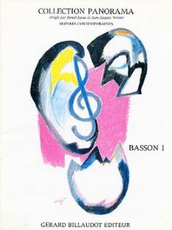Panorama Basson Volume 1 published by Billaudot