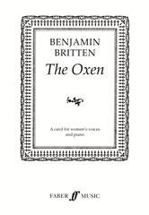 Britten: The Oxen SA published by Faber