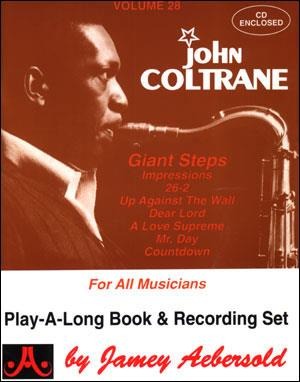 Aebersold 28 John Coltrane Giant Steps Book & CD All Instruments