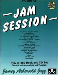 Aebersold 34 Jam Sessions Book & CD for All Instruments