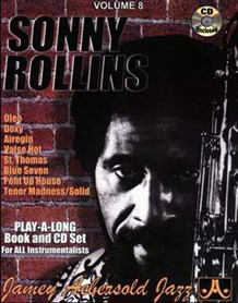 Aebersold 8 Sonny Rollins Book & CD for All Instruments