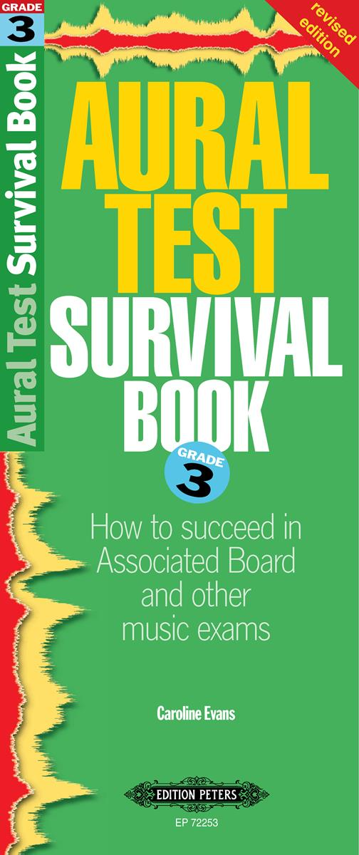 Aural Test Survival Book Grade 3 by Evans published by Peters Edition