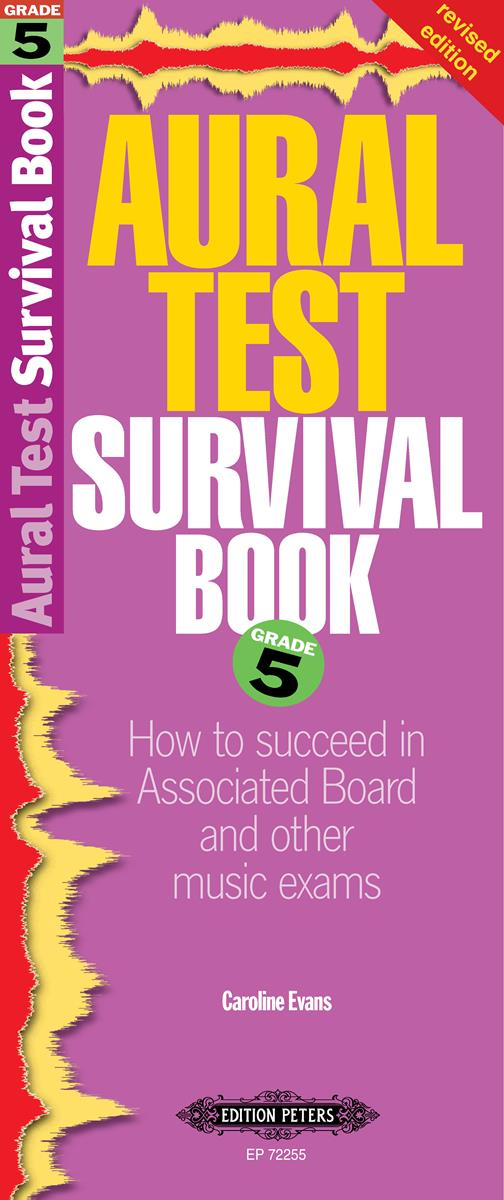 Aural Test Survival Book Grade 5 by Evans published by Peters Edition