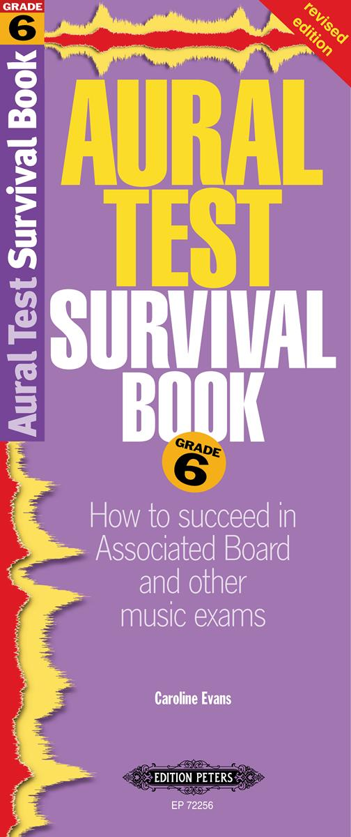 Aural Test Survival Book Grade 6 by Evans published by Peters Edition