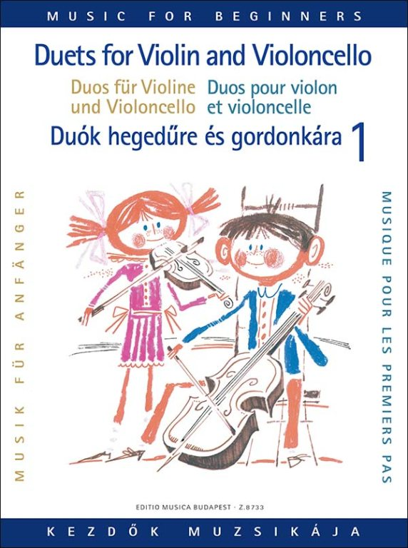 Music for Beginners - Duets for Violin and Cello Volume 1 published by EMB