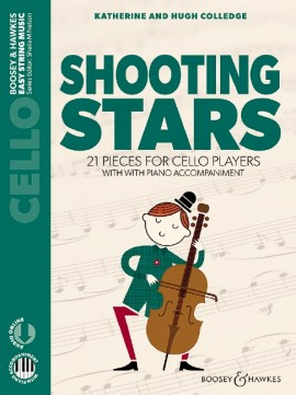 Shooting Stars for Cello & Piano published by Boosey and Hawkes (Book/Online Audio)