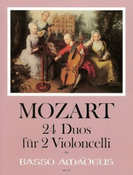 Mozart: 24 Duos for 2 Cellos published by Amadeus