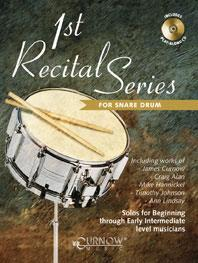 1st Recital Series for Snare Drum published by Curnow