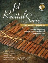 1st Recital Series for Mallet Percussion published by Curnow