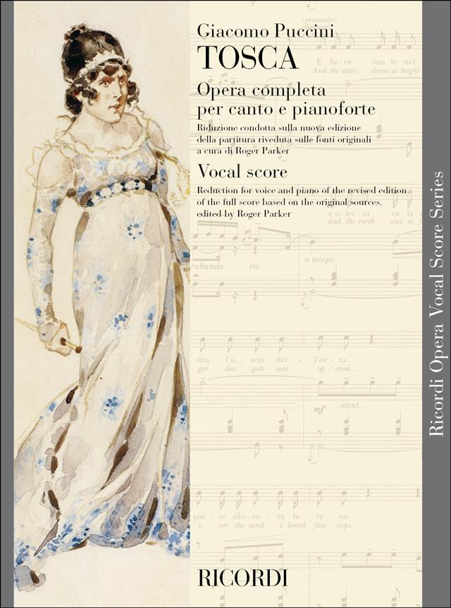 Puccini: Tosca published by Ricordi - Vocal Score