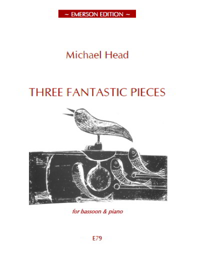 Head: Three Fantastic Pieces for Bassoon published by Emerson