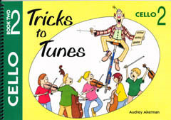 Tricks to Tunes for Cello Book 2 published by Flying Strings