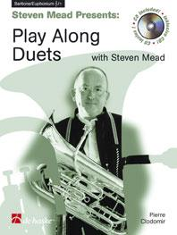 Steven Mead Presents: Play along Duets for Euphonium Book & CD published by De Haske