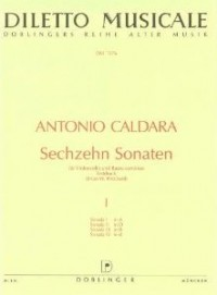 Caldara: 16 Cello Sonatas Volume 1 published by Doblinger