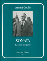 Cooke: Sonata for Bassoon published by Emerson