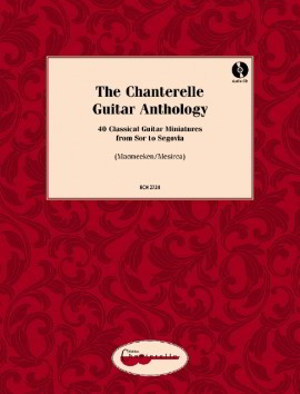 The Chanterelle Guitar Anthology Book & CD