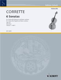 Corrett: Les Délices de la Solitude Opus 20 Volume 1 for Bassoon or Cello published by Schott