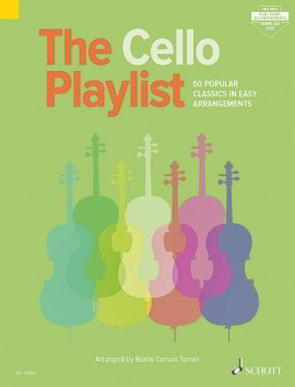 The Cello Playlist published by Schott