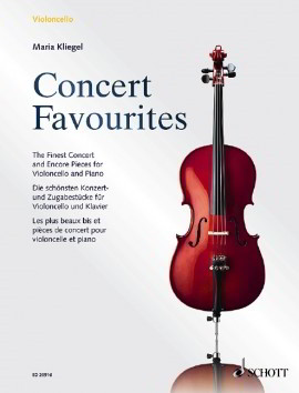 Concert Favourites for Cello published by Schott