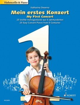 My First Concert for Cello (Book Only) published by Schott