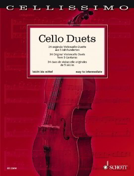 Cellissimo - Cello Duets published by Schott