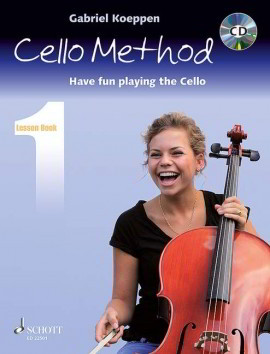 Koeppen: Cello Method - Lesson Book 1 published by Schott